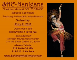 She-Nanigans Belly Dance Student Show